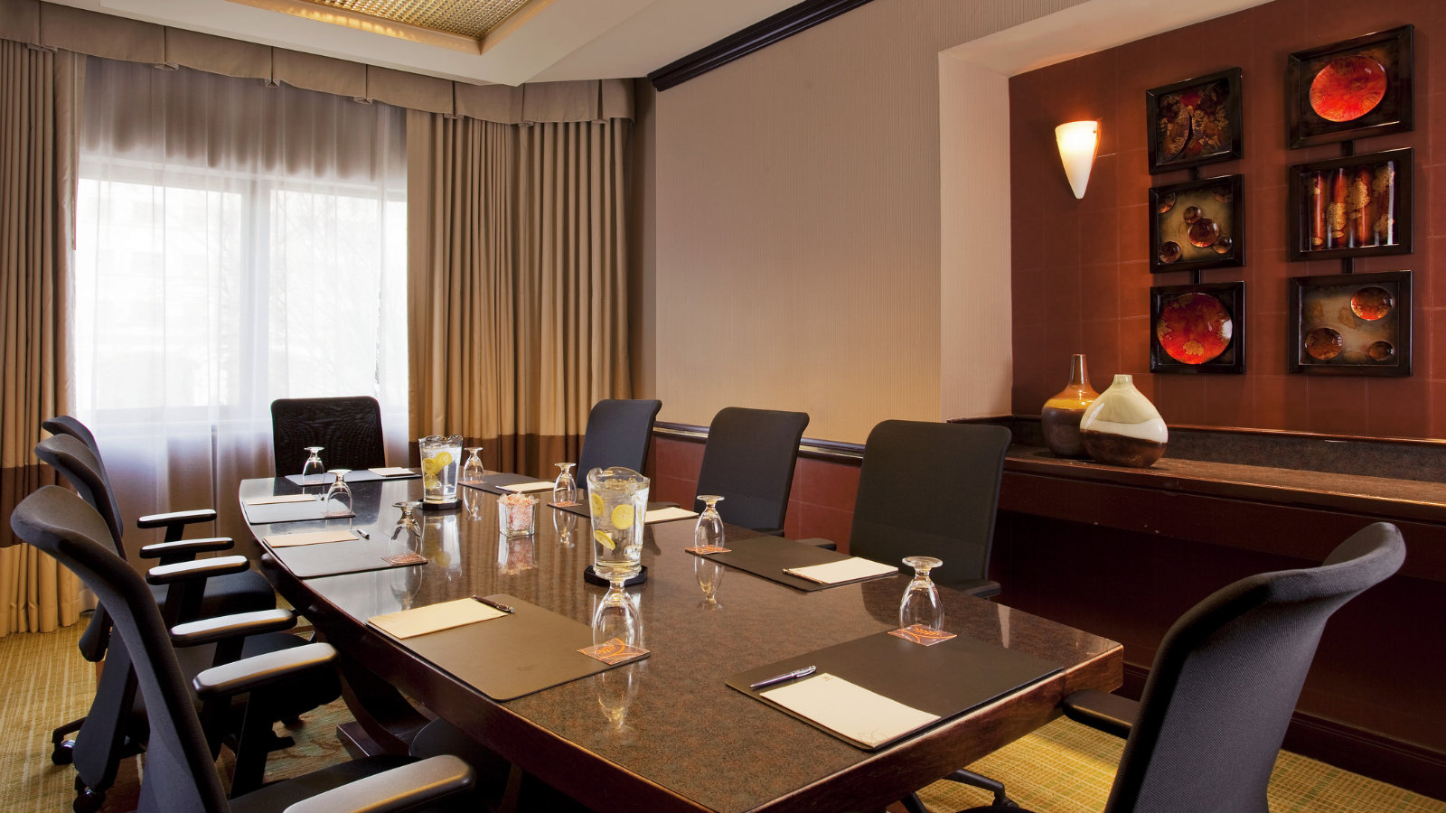 Sheraton Suites Wilmington Downtown Boardroom